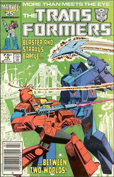 Transformers (1984) 18-A by Marvel