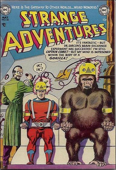 Strange Adventures (1950) 32-A by DC