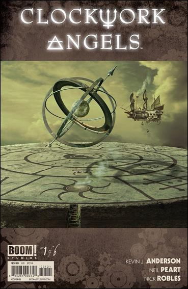 Clockwork Angels 1-B by Boom! Studios