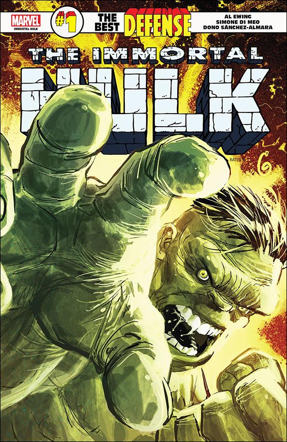 Immortal Hulk: The Best Defense 1-A by Marvel