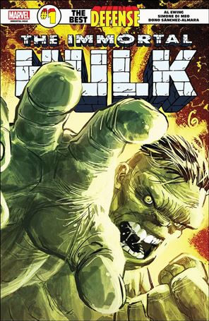 Immortal Hulk: The Best Defense 1-A