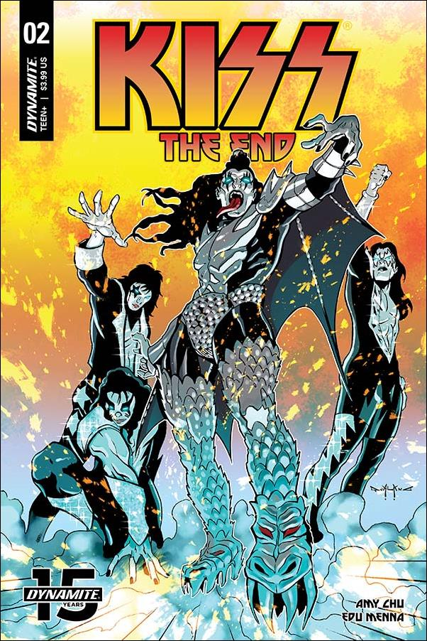 Kiss: The End 2-C by Dynamite Entertainment