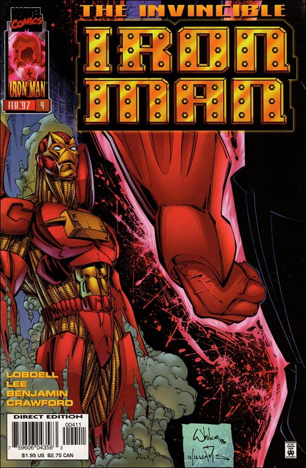 Iron Man (1996) 4-A by Marvel
