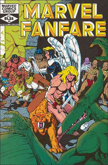 Marvel Fanfare (1982) 4-A by Marvel