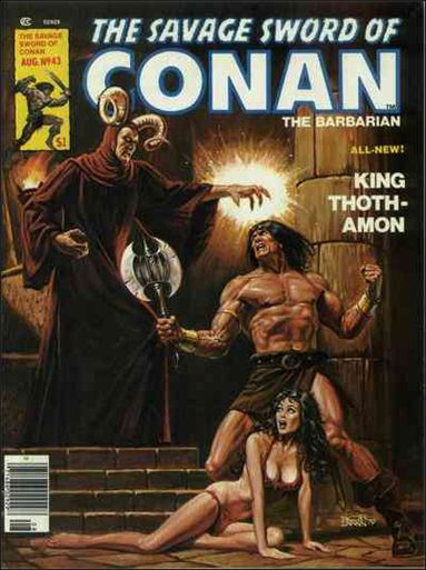 Savage Sword of Conan (1974) 43-A by Marvel