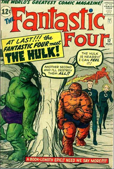 Fantastic Four (1961) 12-A by Marvel