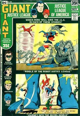 Justice League of America (1960) 93-A