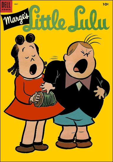 Marge's Little Lulu 71-A by Dell