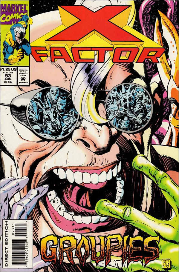 X-Factor (1986) 93-A by Marvel