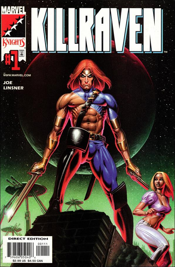 Killraven (2001) 1-A by Marvel