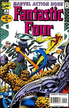 Marvel Action Hour, Featuring The Fantastic Four 5-A