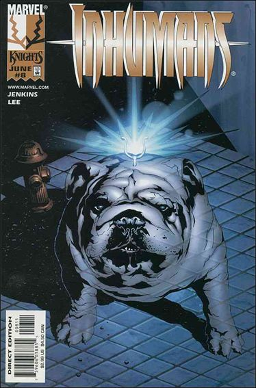 Inhumans (1998) 8-A by Marvel
