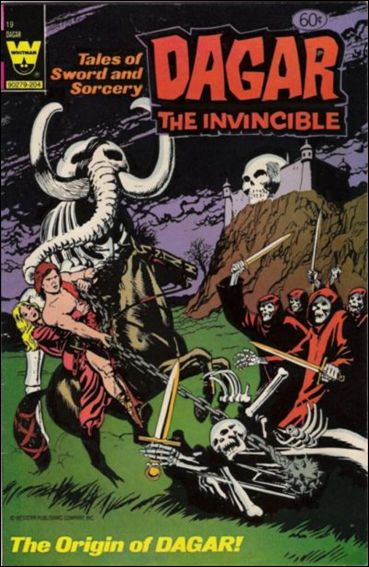 Dagar the Invincible 19-A by Gold Key