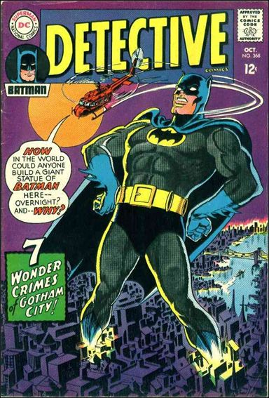 Detective Comics (1937) 368-A by DC
