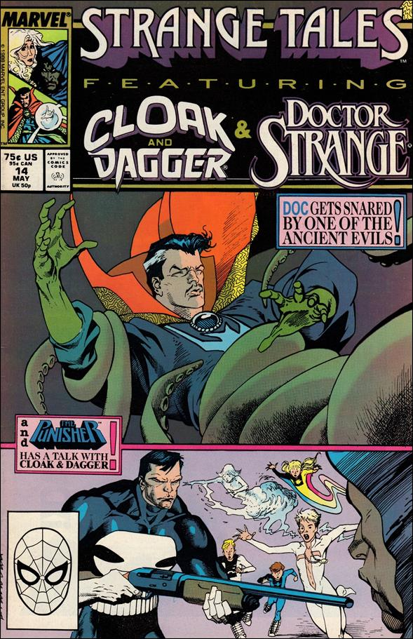 Strange Tales (1987) 14-A by Marvel