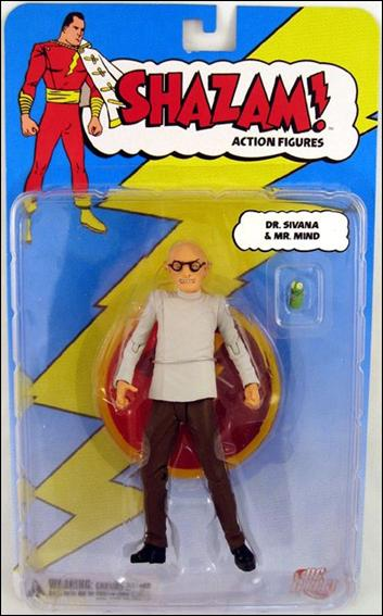 Shazam! (Series 1) Dr. Sivana (with Mr. Mind) by DC Direct