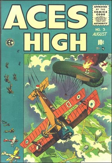 Aces High (1955) 3-A by E.C.