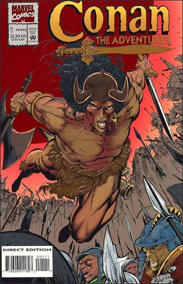 Conan the Adventurer 1-A by Marvel