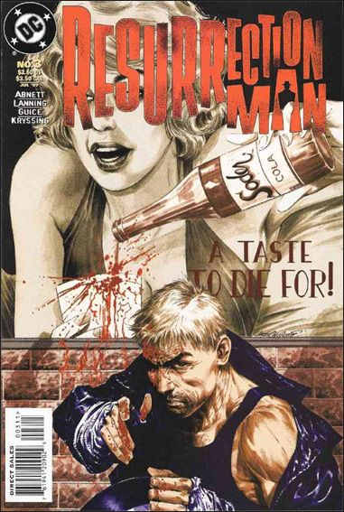 Resurrection Man (1997) 3-A by DC