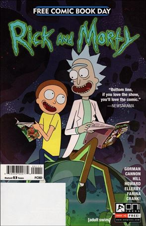 Rick and Morty: Free Comic Book Day 2017 1-A