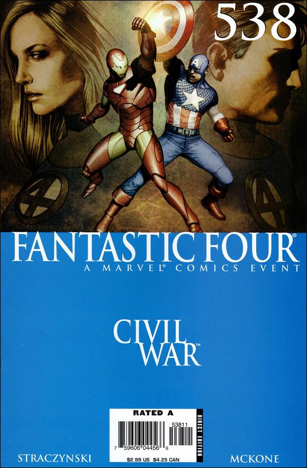 Fantastic Four (1961) 538-A by Marvel