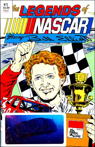 Legends of Nascar 1-A by Vortex Comics