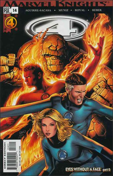 Marvel Knights 4 14-A by Marvel