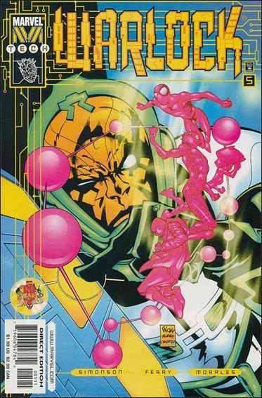 Warlock (1999) 5-A by Marvel