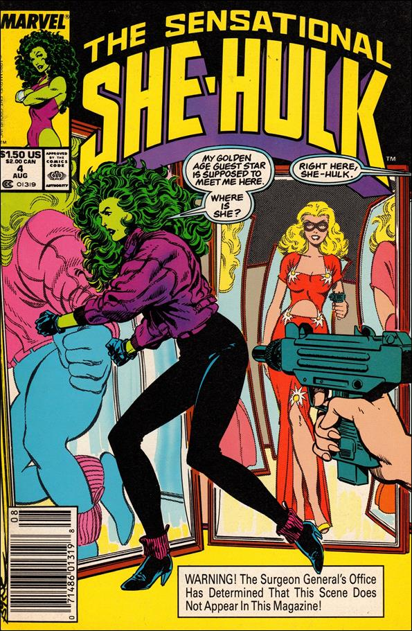 Sensational She-Hulk 4-A by Marvel