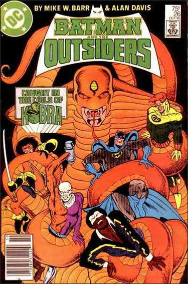 Batman and the Outsiders (1983) 26-A by DC