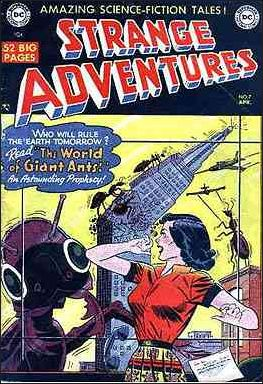 Strange Adventures (1950) 7-A by DC