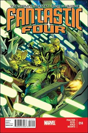 Fantastic Four (2013) 14-A