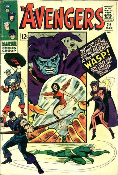 Avengers (1963) 26-A by Marvel