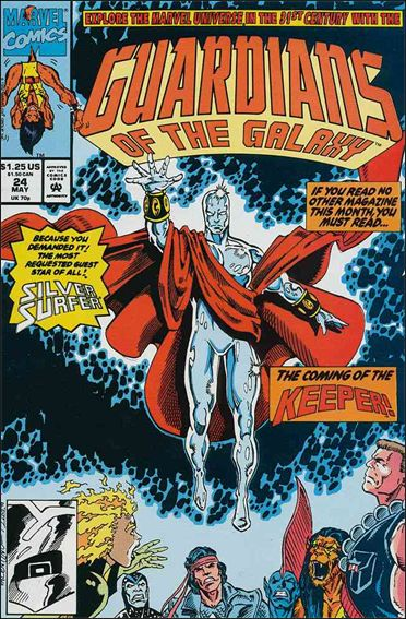 Guardians of the Galaxy (1990) 24-A by Marvel