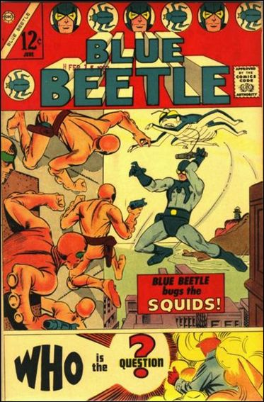 Blue Beetle (1967) 1-A by Charlton