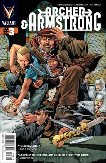 Archer & Armstrong (2012) 3-A by Valiant Entertainment