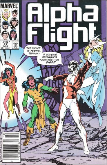 Alpha Flight (1983) 27-B by Marvel