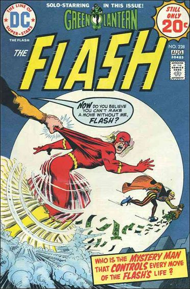 Flash (1959) 228-A by DC