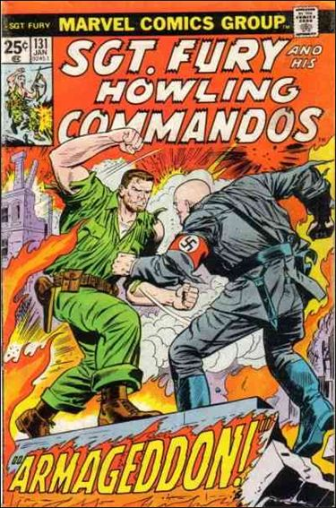 Sgt. Fury and His Howling Commandos 131-A by Marvel