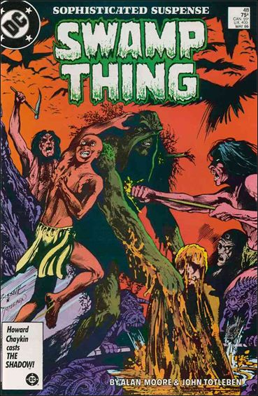 Swamp Thing (1986) 48-A by Vertigo