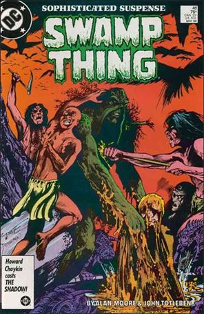 Swamp Thing (1986) 48-A