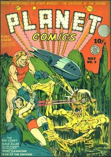 Planet Comics (1940) 5-A by Fiction House Magazines