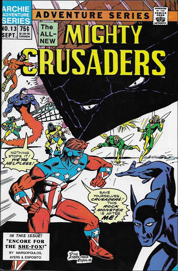Mighty Crusaders (1983) 13-A by Red Circle