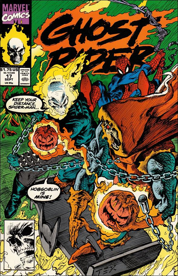 Ghost Rider (1990) 17-A by Marvel