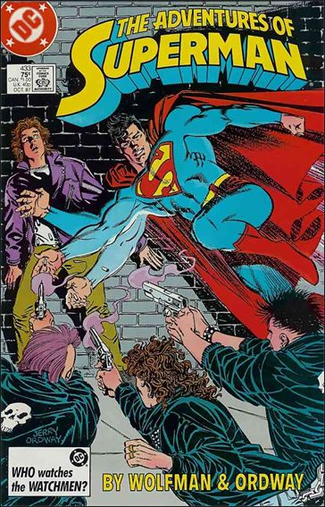 Adventures of Superman (1987) 433-A by DC
