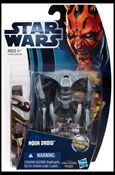 "Star Wars: The Clone Wars Collection 3 3/4"" Figures (2012) Aqua Droid"