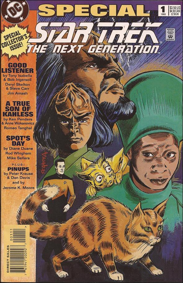 Star Trek: The Next Generation Special 1-A by DC