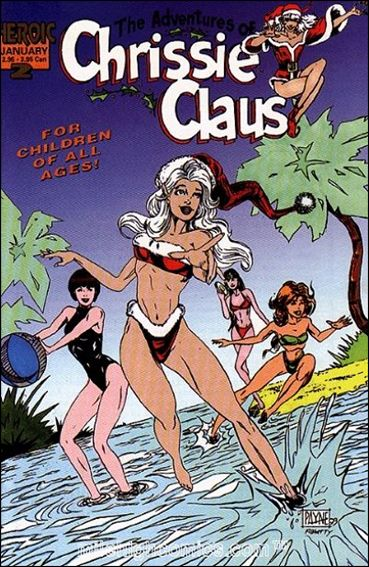 Adventures of Chrissie Claus 2-A by Heroic Publishing