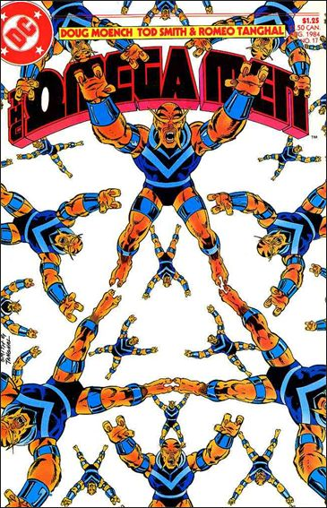 Omega Men (1983) 17-A by DC