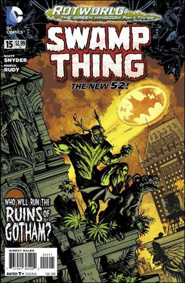 Swamp Thing (2011) 15-A by DC